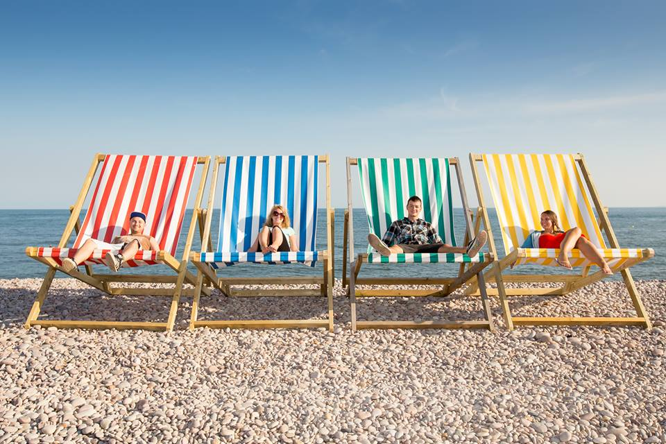 Hire Giant Deck Chairs