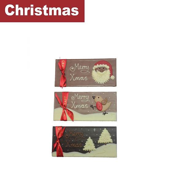 Christmas Chocolate Bars - Posted - Custom Box