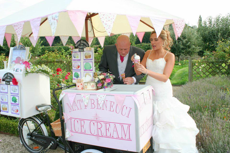 Ice Cream Cart Hire wedding ideas