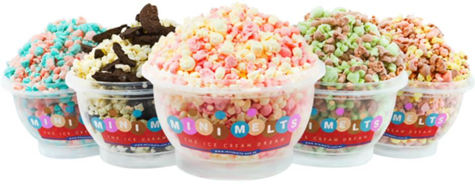 New Mini Melts Ice Cream Hire Service