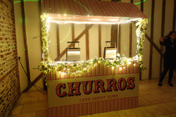 Dessert Carts - Churros, Crepes,