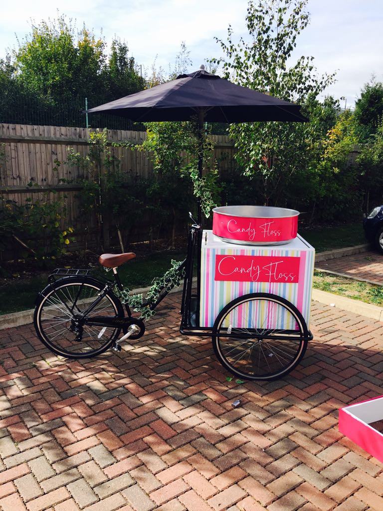 Candy Floss Cart Hire | Tricycle Image