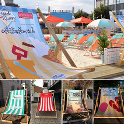 Giant Deck Chairs Branded