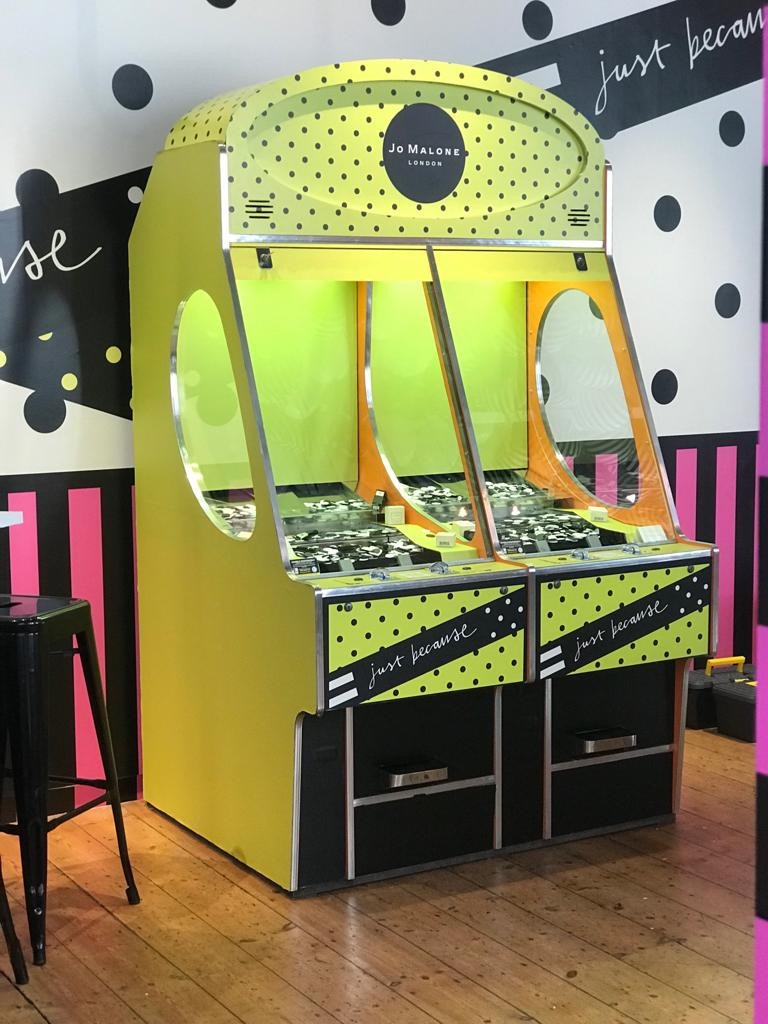 Branded Penny Pusher Machine Hire