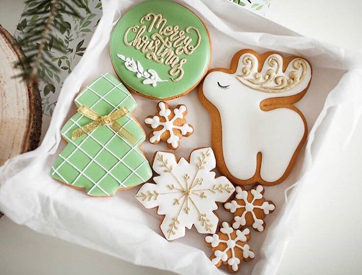 Iced Biscuits gift boxed