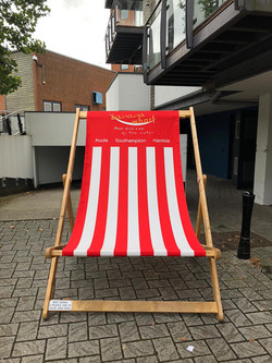 Custom Branded Giant Deck Chair