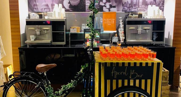 Brand New Aperol Spritz Pop Up Bar to Hire