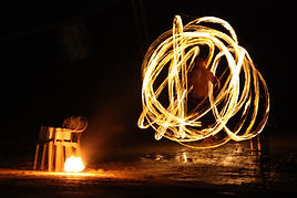 Fire Dance Circus Acts