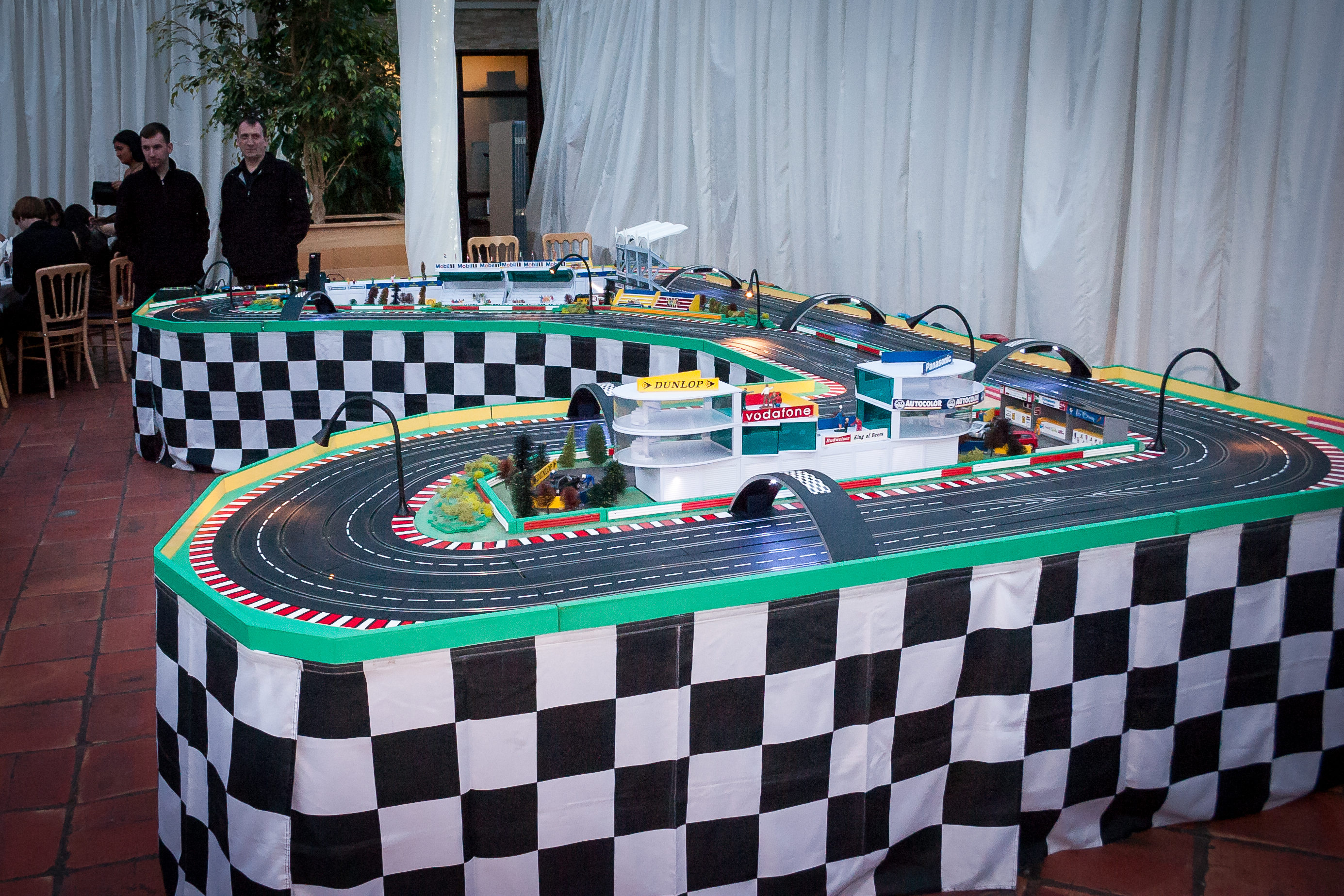 Exhibition Stand Hire Newcastle : Scalextric track hire fantastic tracks for any event!