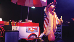 American Hot Dog Cart