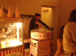 Candy Floss, Popcorn machines