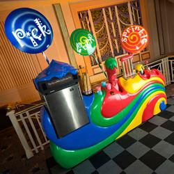 Willy Wonka style Ice Cream Bar Hire