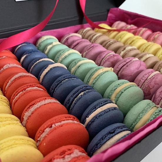 Macaron Gift Box  (12  individually wrapped macarons)