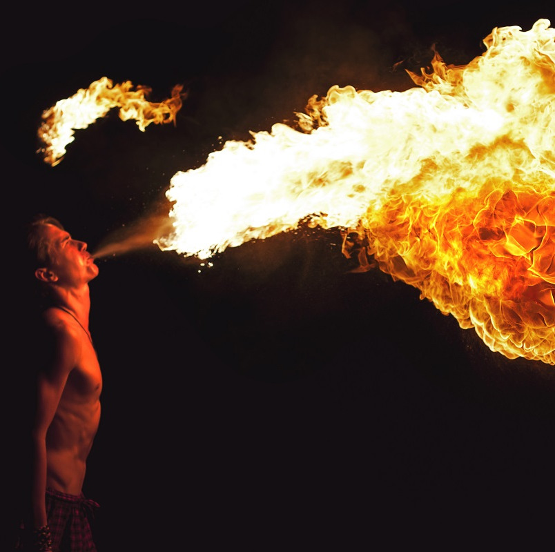 Fire Breathing at Events