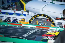 Giant Scalextric Track