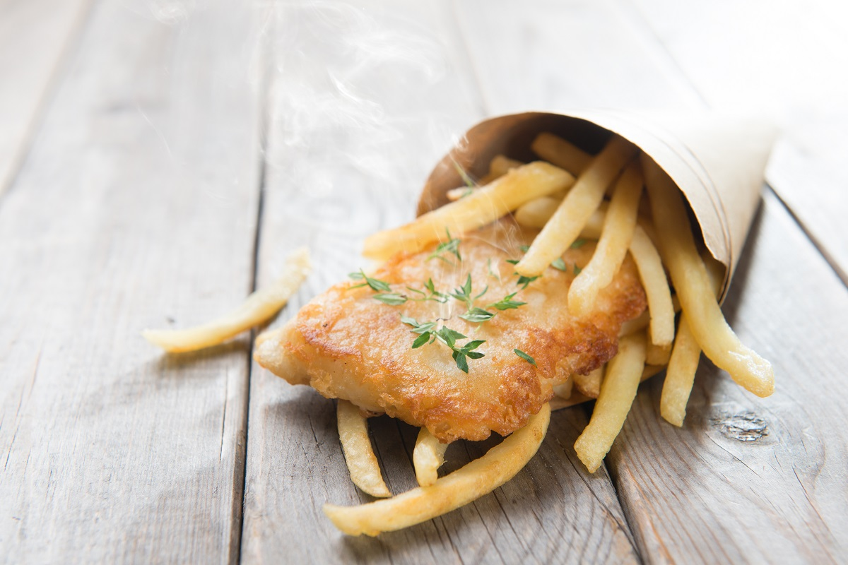 Street Food - Fish and Chips