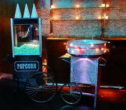 Asian Wedding Sparkly Popcorn Cart