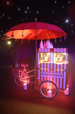 Popcorn Machine Hire | Large Tricycle