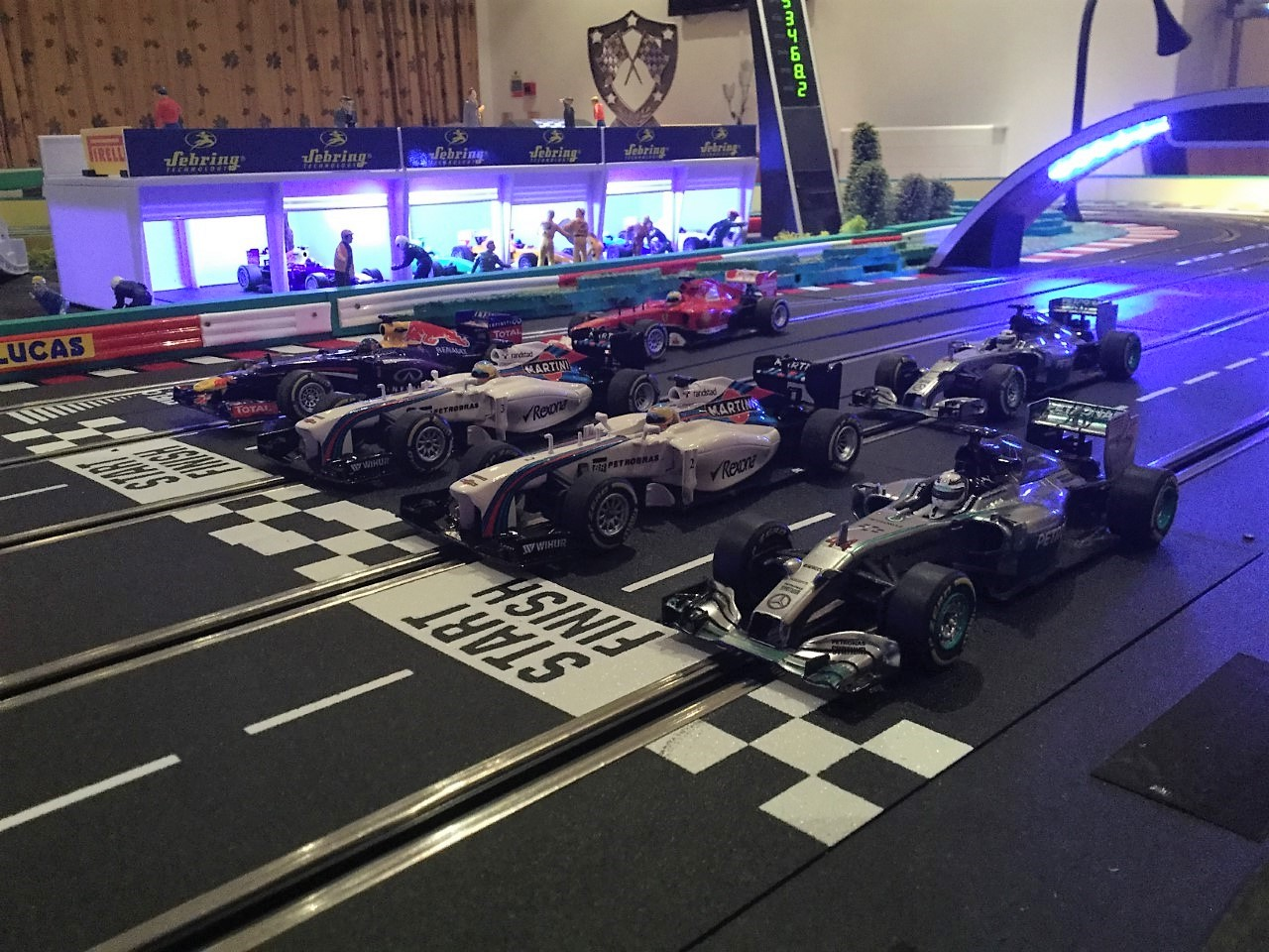 Scalextric Hire London
