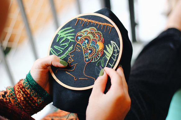 protection. stitching/sewing your owutcome