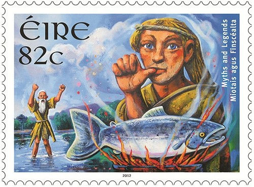Salmon-of-Knowledge-Irish-Stamp-from-An-