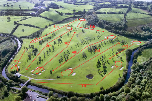 Ballinamore Golf Course - 9 Hole.