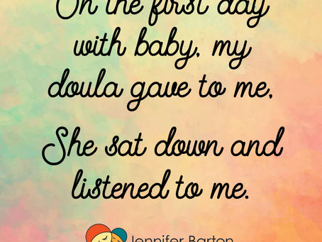 12 Days of Doula #1