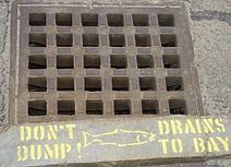 Don't Dump - Drains To Bay
