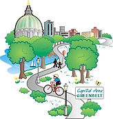 Capital Area Greenbelt Logo