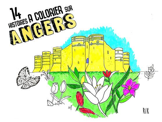 14 histoires à colorier sur Angers