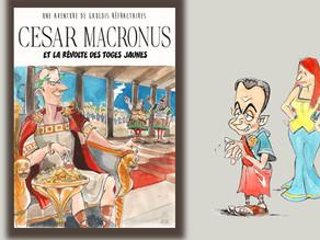 César Macronus et la révolte des Toges jaunes