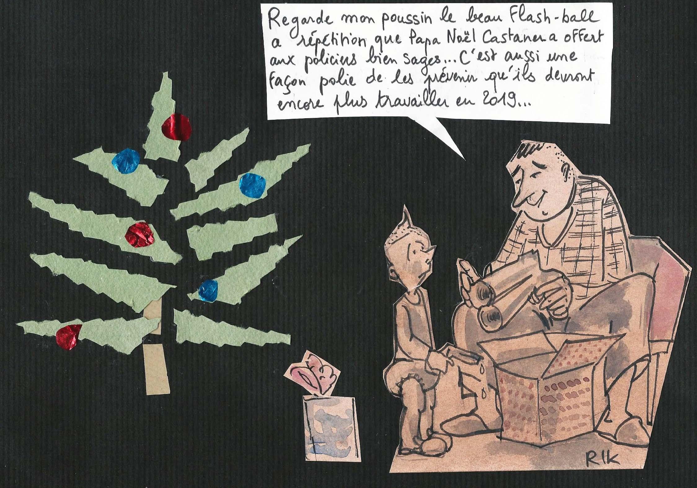 Papa Noël Castaner