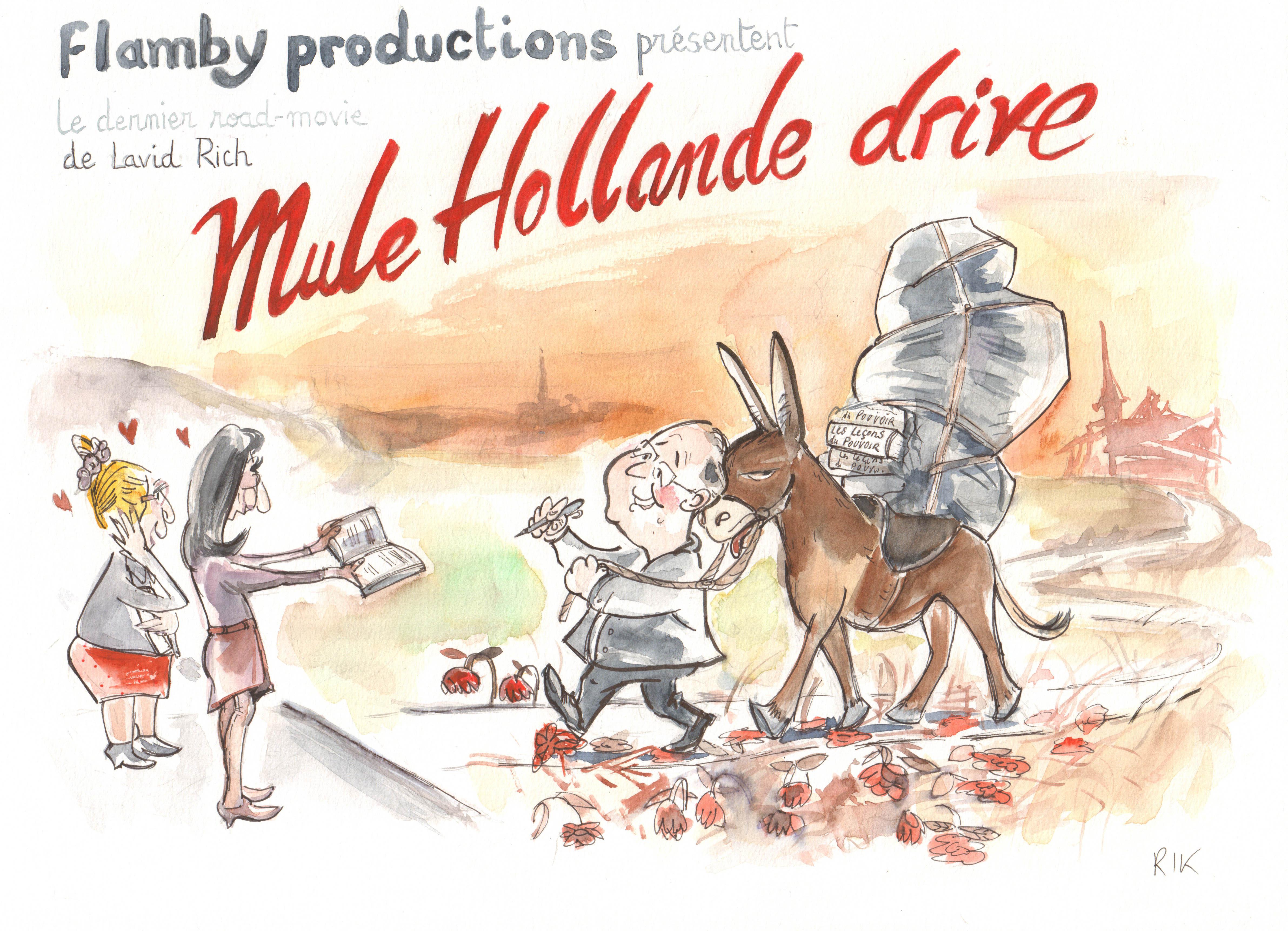 mule hollande drive