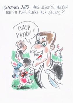 Macron et les jeunes