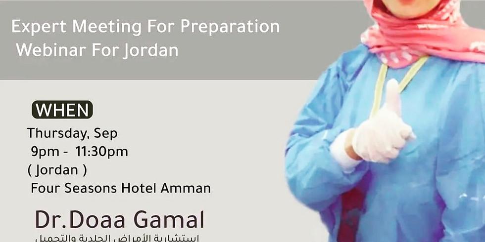 Expert Meeting for Preparation Webinar for Jordan