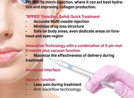 Derma star injector