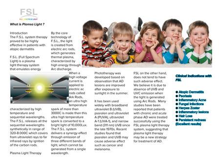 Plamsa Light for dermatologist