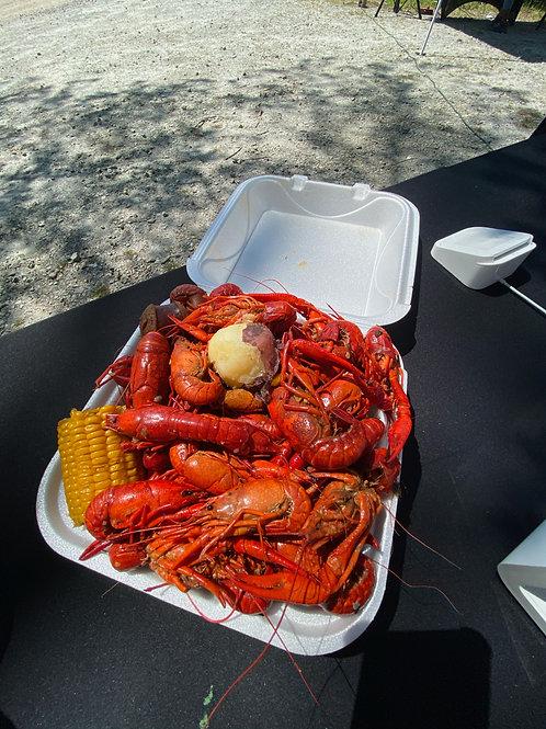 Crawfish Plate $25