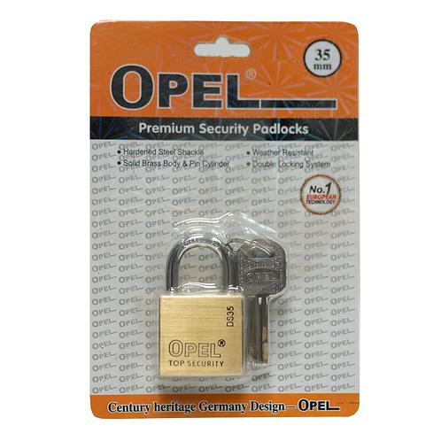Candado Alta Seguridad 35mm Opel