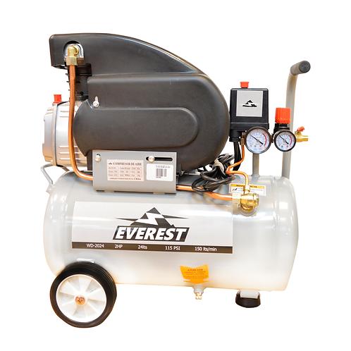 Compresor de Aire Comprimido Everest WD-2024 2HP 24 Litros