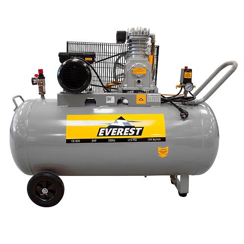Compresor de Aire Comprimido Everest CE-820 3HP 200 Litros