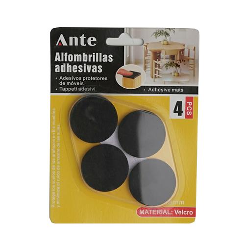 Alfombrillas Adhesivas Circulares 38mm 4 Piezas Ante