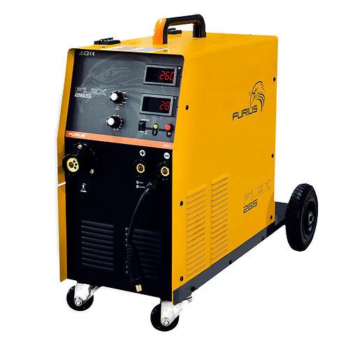 Maquina De Soldar Multiproposito Furius Flex 265 15kg 260a
