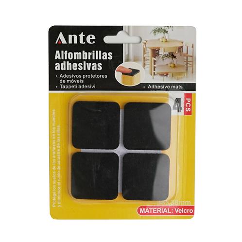 Alfombrillas Adhesivas 38 X 38mm 4 Piezas Ante