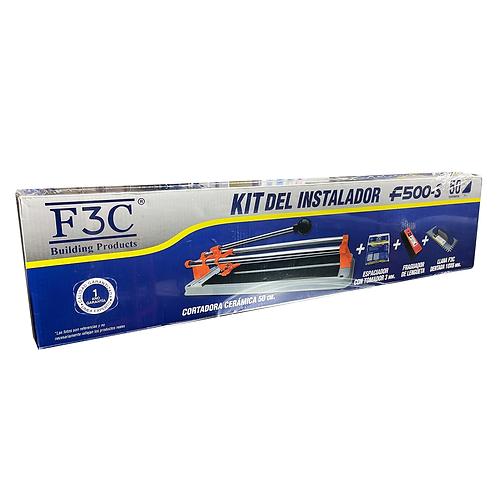 Cortadora De Cerámica 50 Cm Y Kit Instalacion F3c F500-s