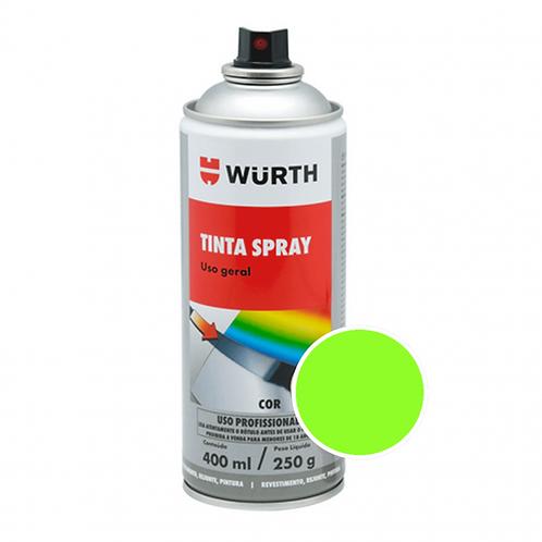 Pintura en Aerosol Color Verde Fluor Wurth