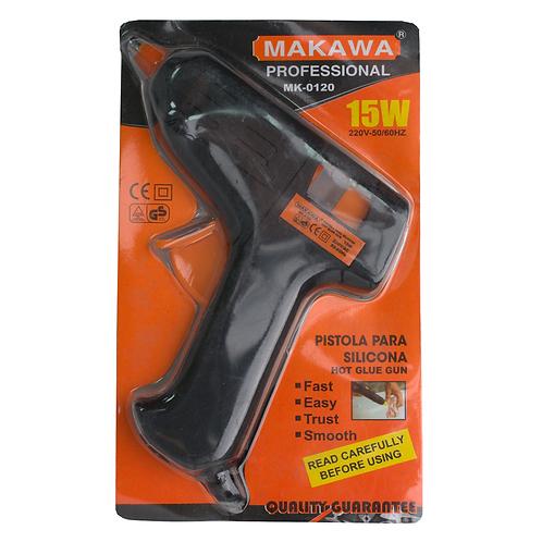 Pistola Para Silicona 15w Mk-0120 Mawaka