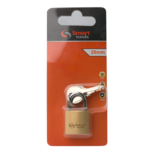 Candado Seguridad Bronce Forjado 20mm Smart Tools