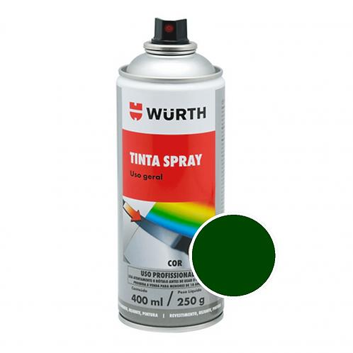 Pintura en Aerosol Color Verde Oscuro Wurth