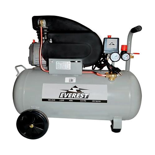 Compresor de Aire Comprimido Everest WD-2540 2.5HP 40 Litros